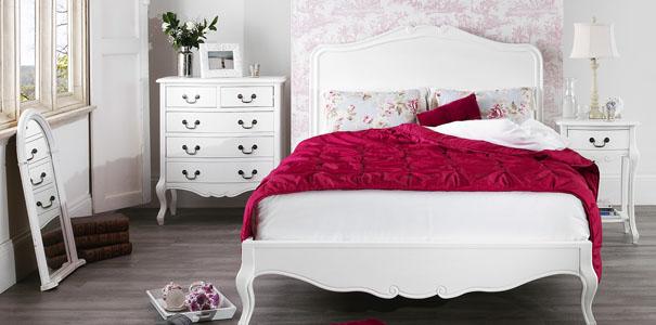 Juliette Antique White Shabby Chic Furniture