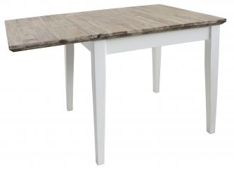 florence white square extending table