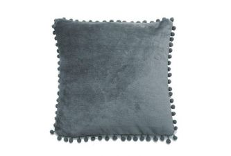 Cashmere Touch Cushion Charcoal