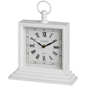 Square London Table Clock