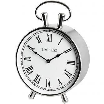 Chrome Mantel Clock