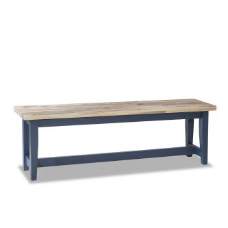 Florence Table Bench 140cm - Navy Blue