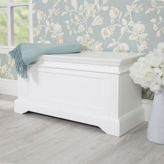 Gainsborough Blanket Storage Box – Hamptons Style