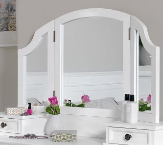 Gainsborough 3-Way Mirror - White