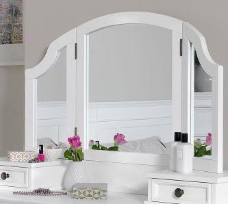 Gainsborough 3-Way Mirror - White