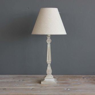 Paulie Lamp with Linen Shade