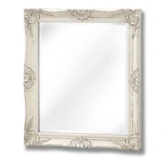 Antique White French Vintage Style Mirror (72x62)