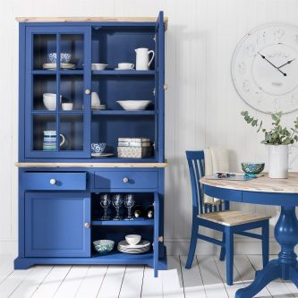 Florence Display Cabinet Dresser- Royal Blue