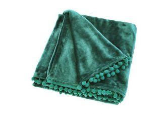 Cashmere Touch Fleece Throw Verdigris (130x170)