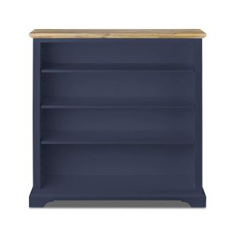 Florence Navy Blue Modern Bookcase Shelving Unit