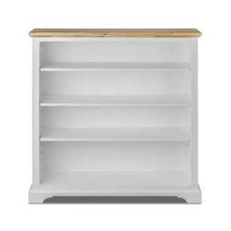 Florence White Modern Bookcase Shelving Unit
