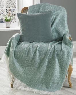 Oban Faux Mohair Throw (130x170)