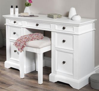 Gainsborough Dressing Table - White
