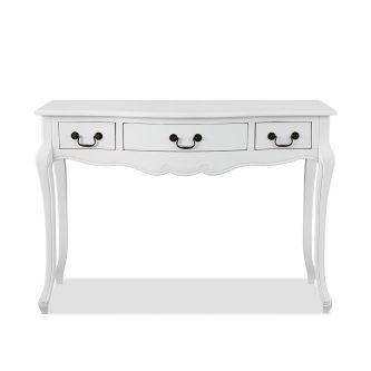 Juliette shabby chic white dressing table