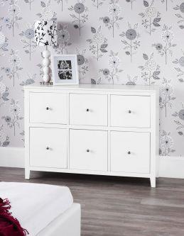 Brooklyn large white dresser