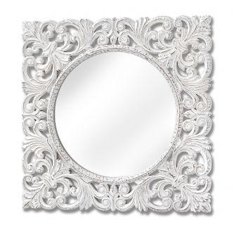 Baroque Style Wall Mirror (90cm)