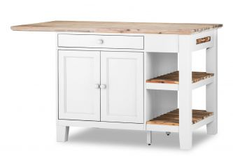 Florence Kitchen Island - White