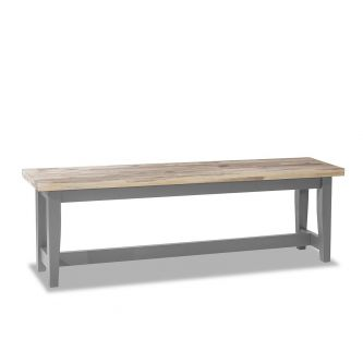 Dove Grey Kitchen and Dining Table Bench