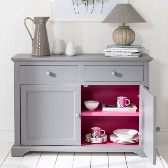 Florence Sideboard Pink and Grey
