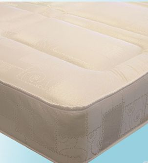 Deluxe 4ft6 Open Coil Spring Mattress