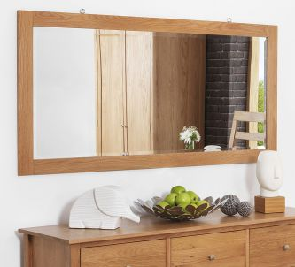 Edward Hopper Oak Wall mirror