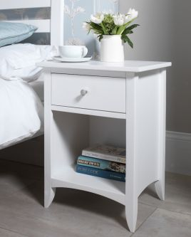 Edward Hopper white bedside table