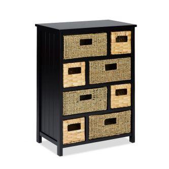 Tetbury Large Storage Unit - Black