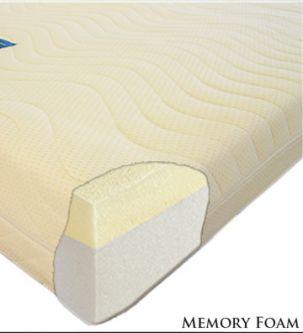 Extreme50 Memory Foam Mattress 3ft