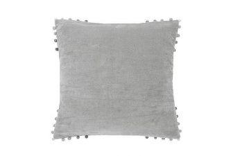 Velvet Cushion Grey