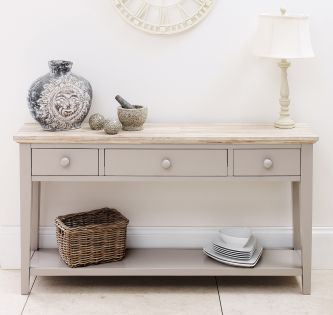 Florence console table truffle