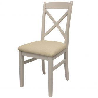 florence cross back chair truffle