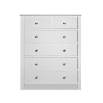 Brooklyn white chest of drawers