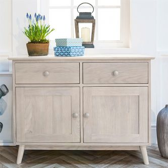Edvard Olsen 2 Door Sideboard in Light Oak