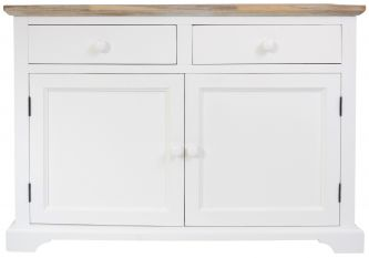 florence white sideboard