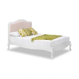 Juliette White 6ft Super King Size Shabby Chic Upholstered Bed Frame