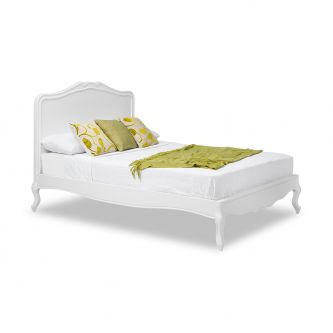 Juliette White 5ft King Size Shabby Chic Wooden Bed Frame