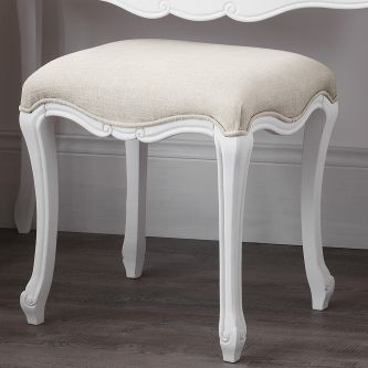 shabby chic dressing table stool