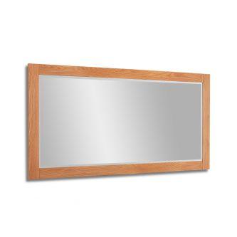 Edward Hopper Oak Wall mirror
