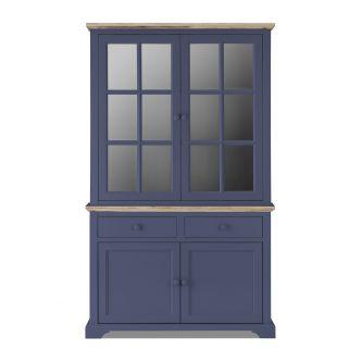 Florence Display Cabinet Dresser - Navy Blue