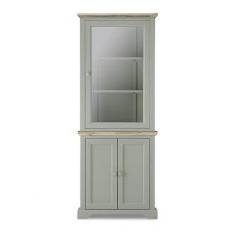 Florence Sage Green Corner Cabinet