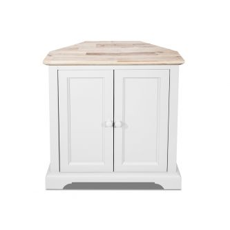 florence white corner sideboard
