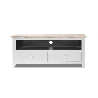 Florence white TV unit