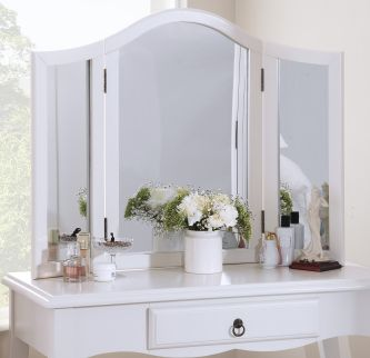 Romance true white 3-way mirror