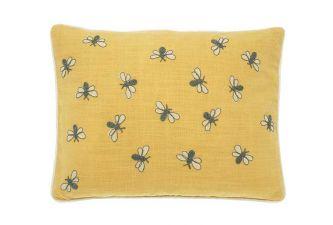 Walton & Co Scrapbook Bumblebee Cushion