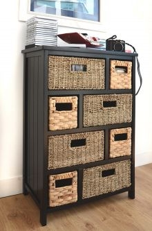 Tetbury Large Storage Unit - Black