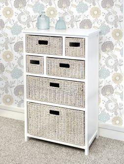 Tetbury 6 drawer unit