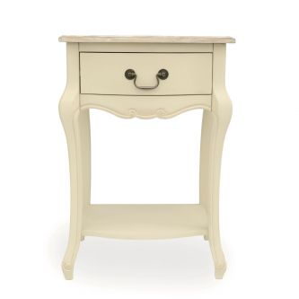 Juliette 1 drawer bedside cabinet