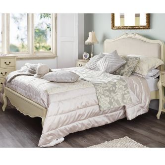 Juliette shabby chic super king size bed