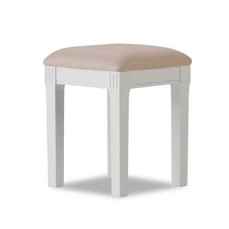 Gainsborough Upholstered Stool - White