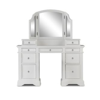 Gainsborough Dressing Table Set with Crystal Handles